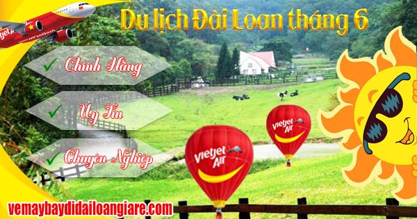 những điểm du lịch tại Đài Loan đáng đi trong tháng 6