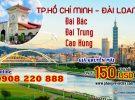 China Airlines khuyến mãi vé khứ hồi Sài Gòn – Đài Loan chỉ từ 150 USD