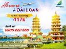 Bamboo Airways mở vé khuyến mãi hè Hà Nội đi Cao Hùng từ 117k